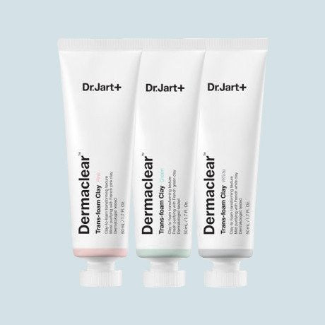 Dr. Jart+ - Dermaclear Trans-Foam Clay Trio - Korean Skin Care From Take Good Care