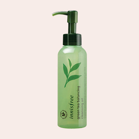 Innisfree - Green Tea Balancing Cleansing Oil - Korean Skin Care From Take Good Care
