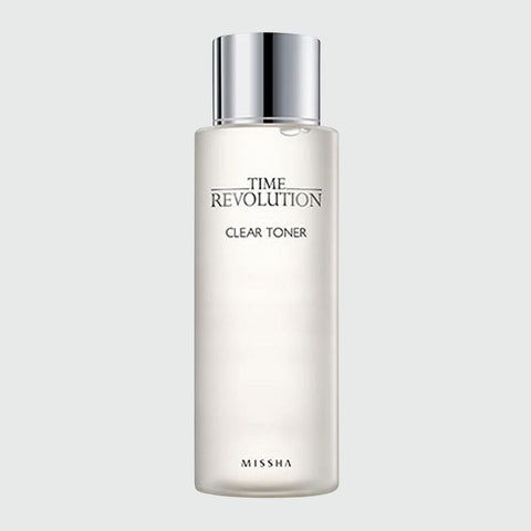 Missha - Time Revolution Clear Toner - Korean Skin Care From Take Good Care