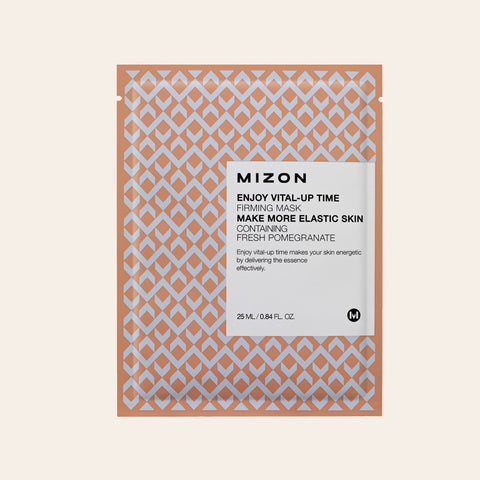 Mizon - Enjoy Vital-Up Time Firming Sheet Mask - Korean Skin Care From Take Good Care
