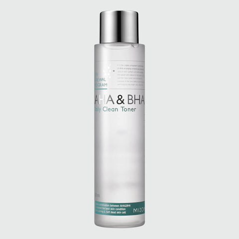 Mizon AHA & BHA Daily Clean Toner - Korean Skin Care | Take Good Care