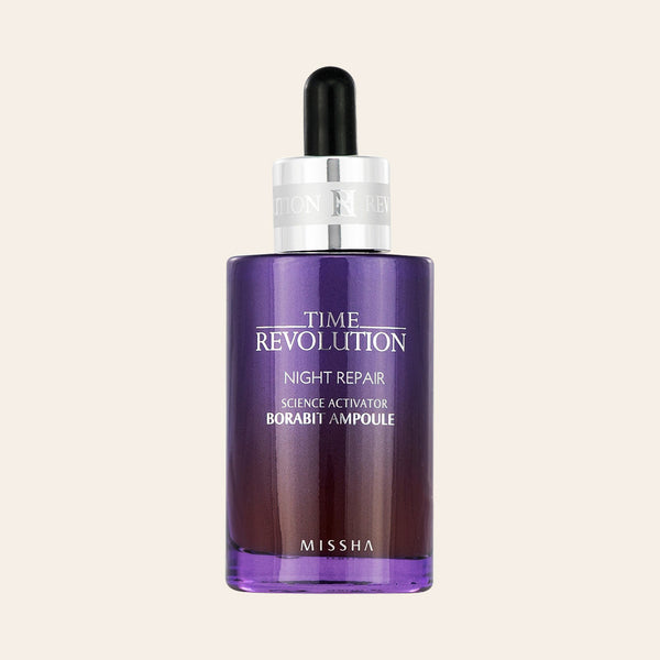 Missha - Time Revolution Night Repair Science Activator Borabit Ampoule - Korean Skin Care From Take Good Care