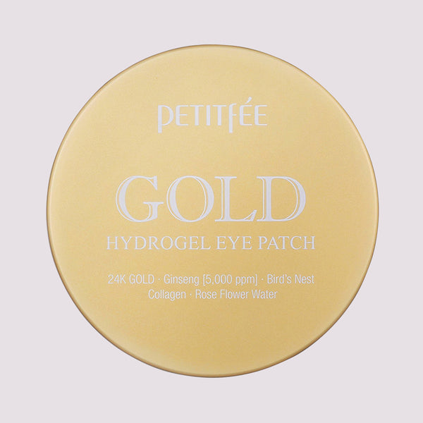 Gold Hydrogel Eye Patches