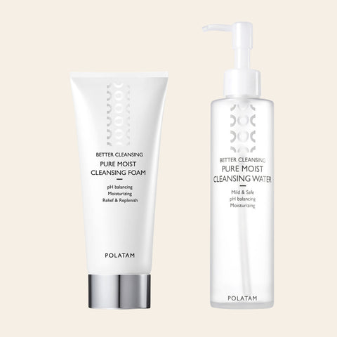 Polatam Pure Moist Cleansing Duo