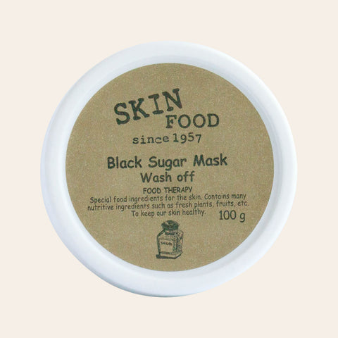 Skinfood - Black Sugar Mask Wash Off - Korean Skin Care From Take Good Care