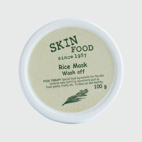 Skinfood - Rice Mask Wash Off - Korean Skin Care From Take Good Care