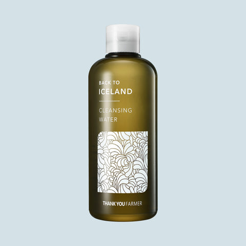 Thank You Farmer - Back to Iceland Cleansing Water - Korean Skin Care From Take Good Care