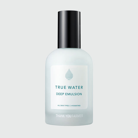 Thank You Farmer - True Water Deep Emulsion - Korean Skin Care From Take Good Care