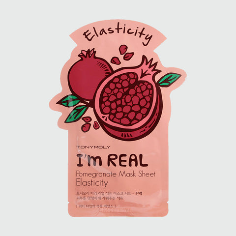 TONYMOLY - I'm Real Sheet Mask - Pomegranate - Korean Skin Care From Take Good Care