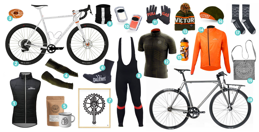 Shop Local. A Made in NI Gift Guide For Cyclists.