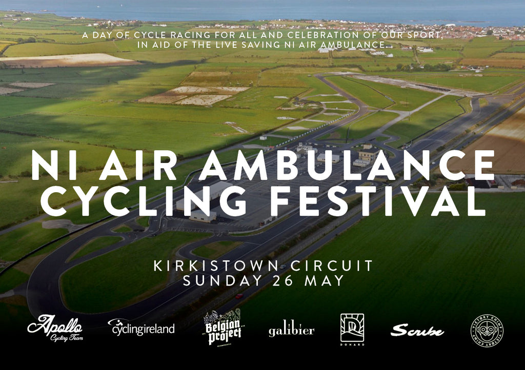 Next Chimp Hut Outing: NI Air Ambulance Cycling festival