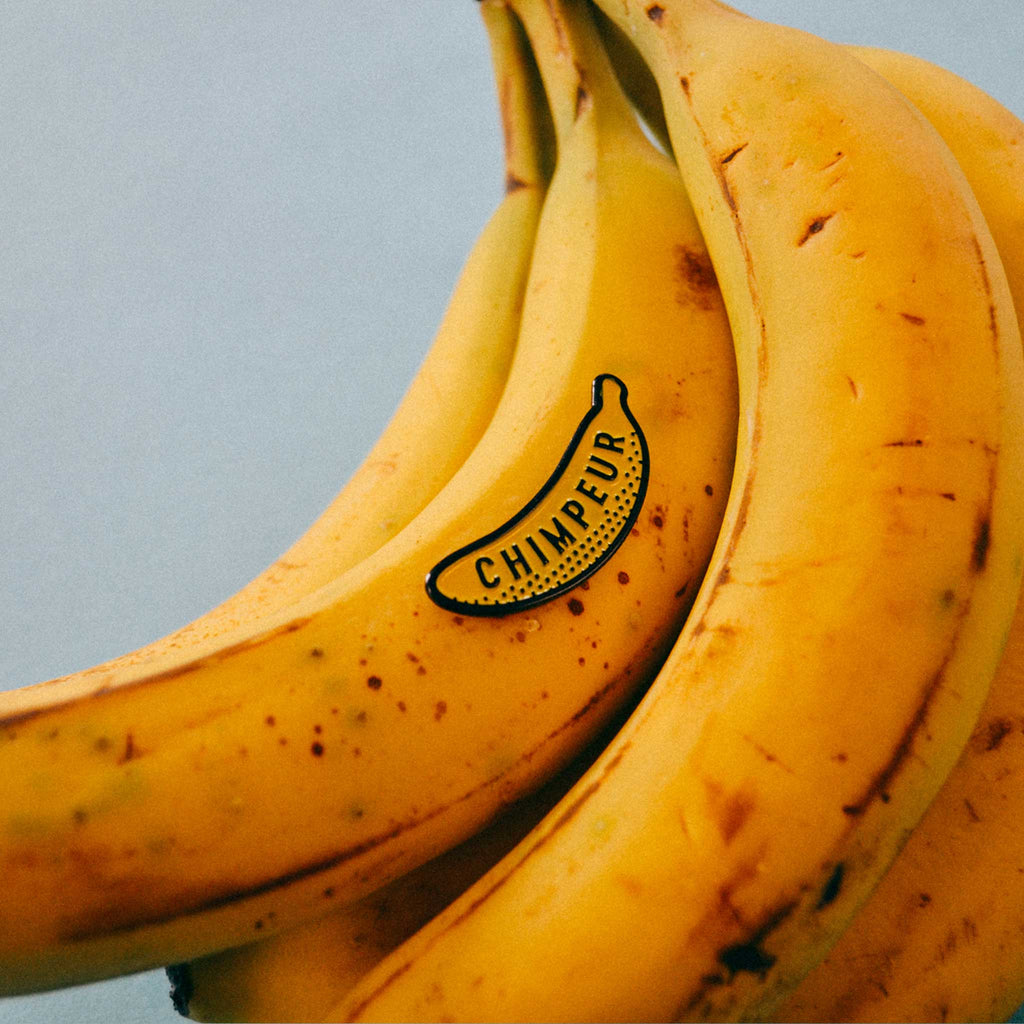 Chimpeur Banana Enamel Pin