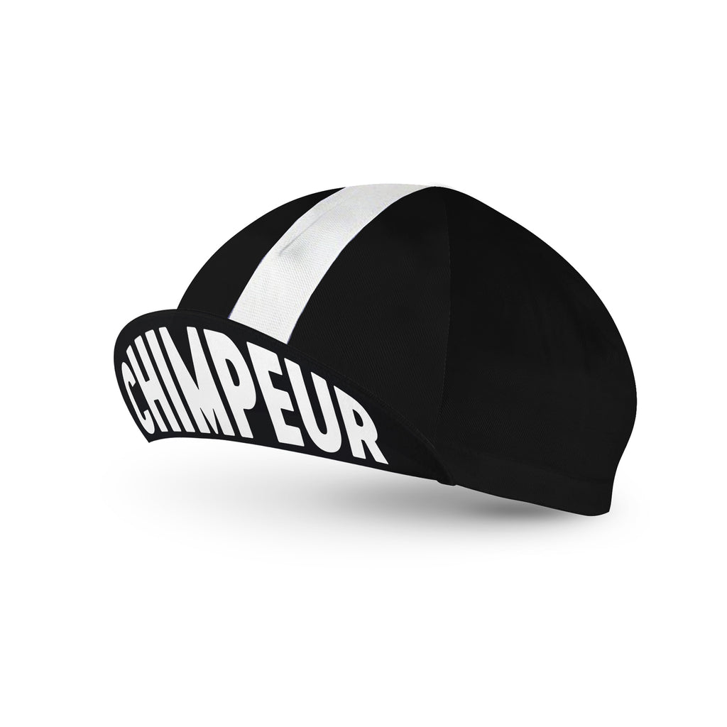 Chimpeur Cotton Cycling Cap Mk. IV (Black)