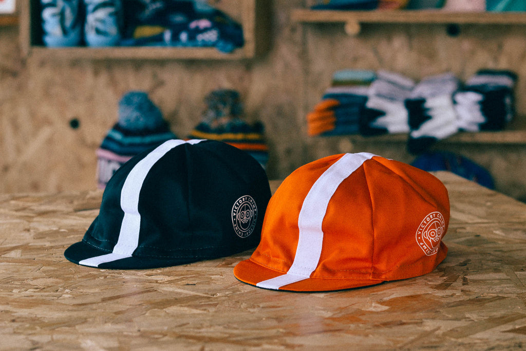 Chimpeur Cotton Cycling Cap Mk. IV (Orangutan Orange)