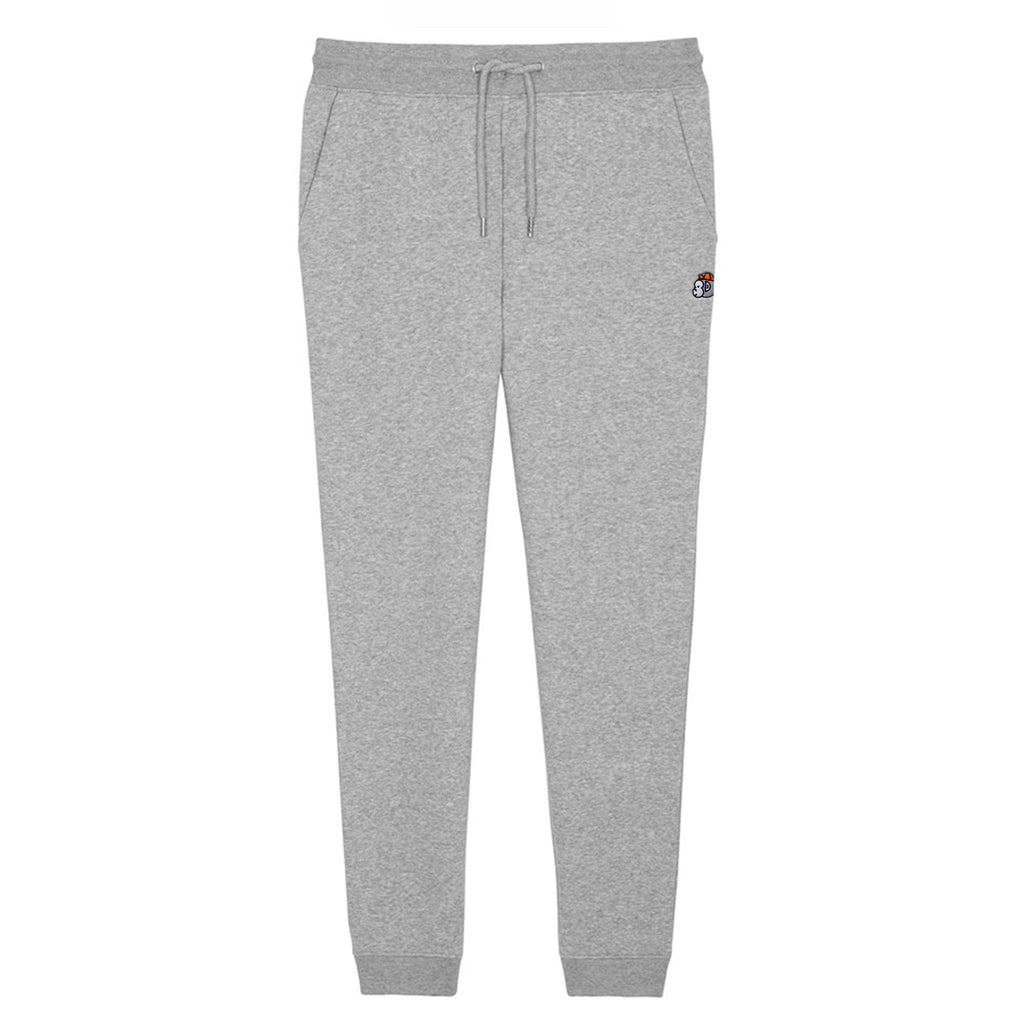 Chimpeur Unisex Organic Cotton Joggers (Heather Grey)