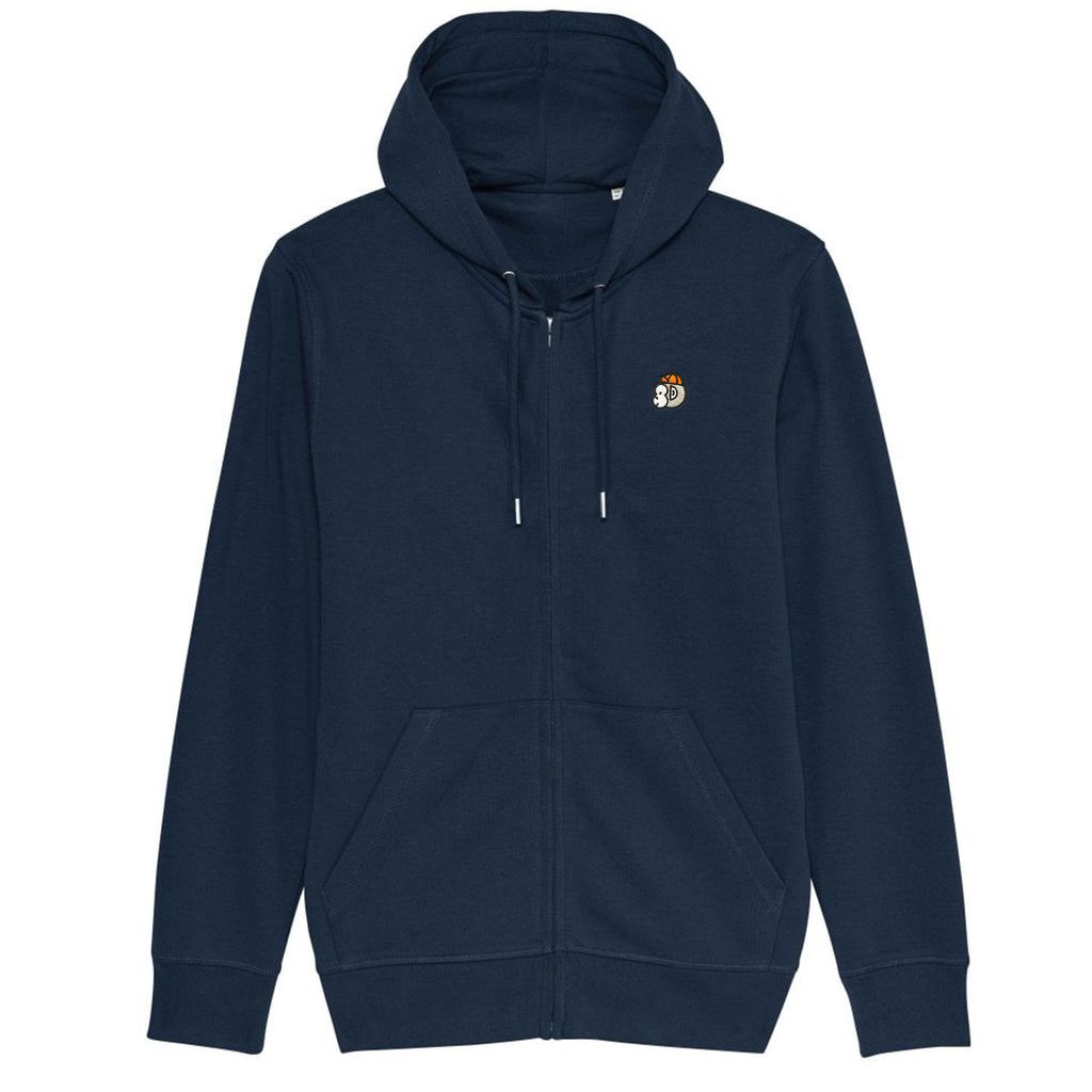 Chimpeur Unisex Organic Cotton Hoodie (French Navy)