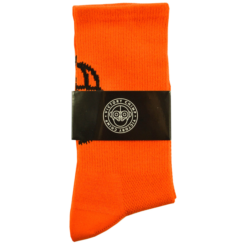 Chimpeur High Top Socks (Orange)