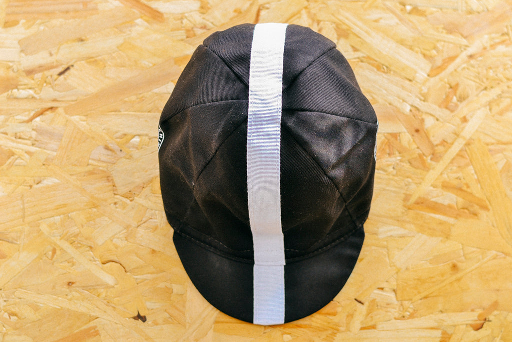 Chimpeur Cotton Cycling Cap Mk. III (Black) - Victory Chimp