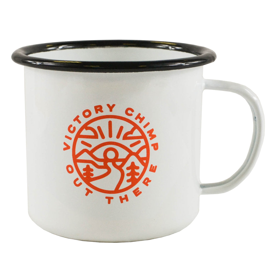 Out There XL Enamel Mug