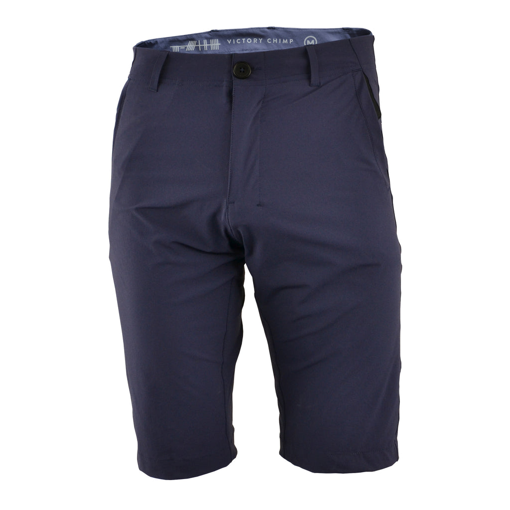 Out There Unisex Gravel Cycling Shorts (Navy)
