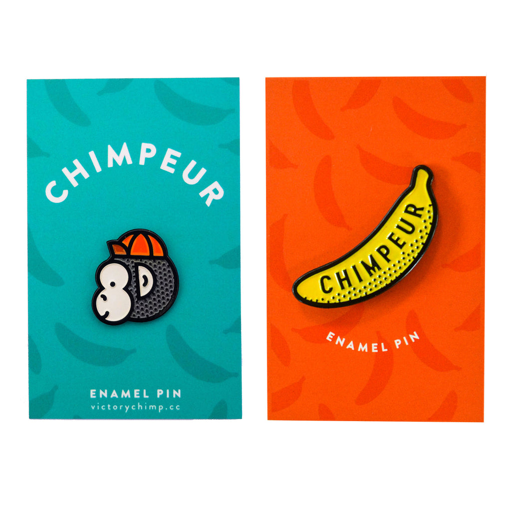Chimpeur Enamel Pin Bundle