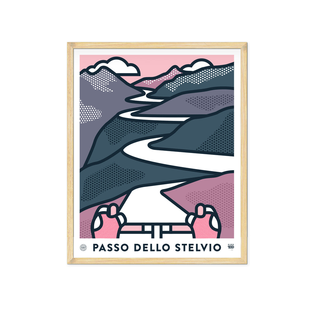 Giro 100 Art Prints - Set of Three - Victory Chimp