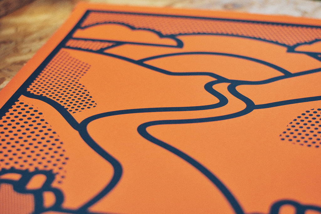 Up! Up! Up! Screen Print