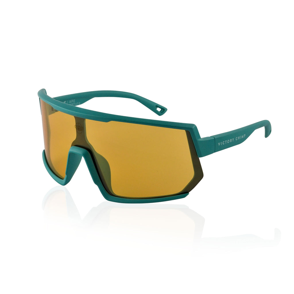 A.P.E. Optics Vega Sunglasses (Teal w/ Bronze Lens)