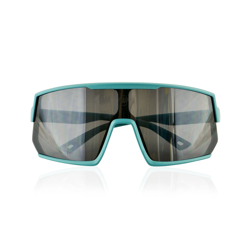A.P.E. Optics Vega Sunglasses (Teal w/ Smoke Lens)
