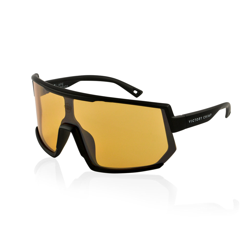 A.P.E. Optics Vega Sunglasses (Black w/ Bronze Lens)