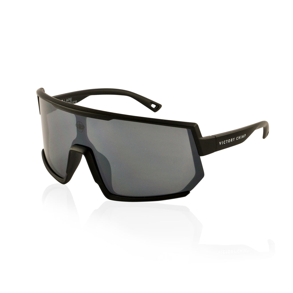A.P.E. Optics Vega Sunglasses (Black w/ Smoke Lens)