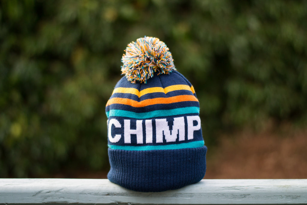 Victory Chimp Bobble Hat Stampen Team Issue - Victory Chimp