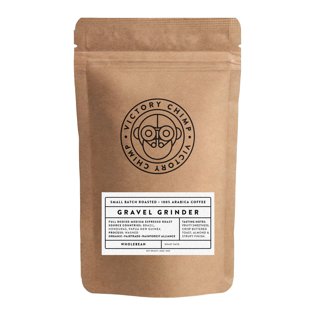 Victory Chimp Coffee - Gravel Grinder Blend - Victory Chimp