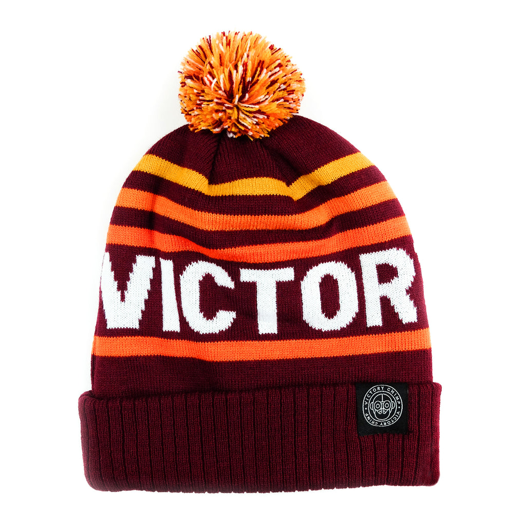 Victory Chimp Bobble Hat (Burgundy)