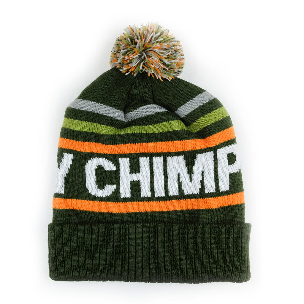Victory Chimp Bobble Hat (Olive Green)