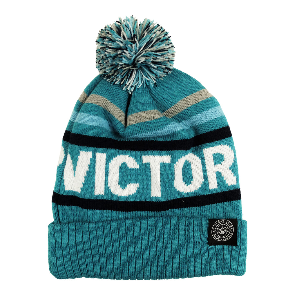 Victory Chimp Bobble Hat (Teal)