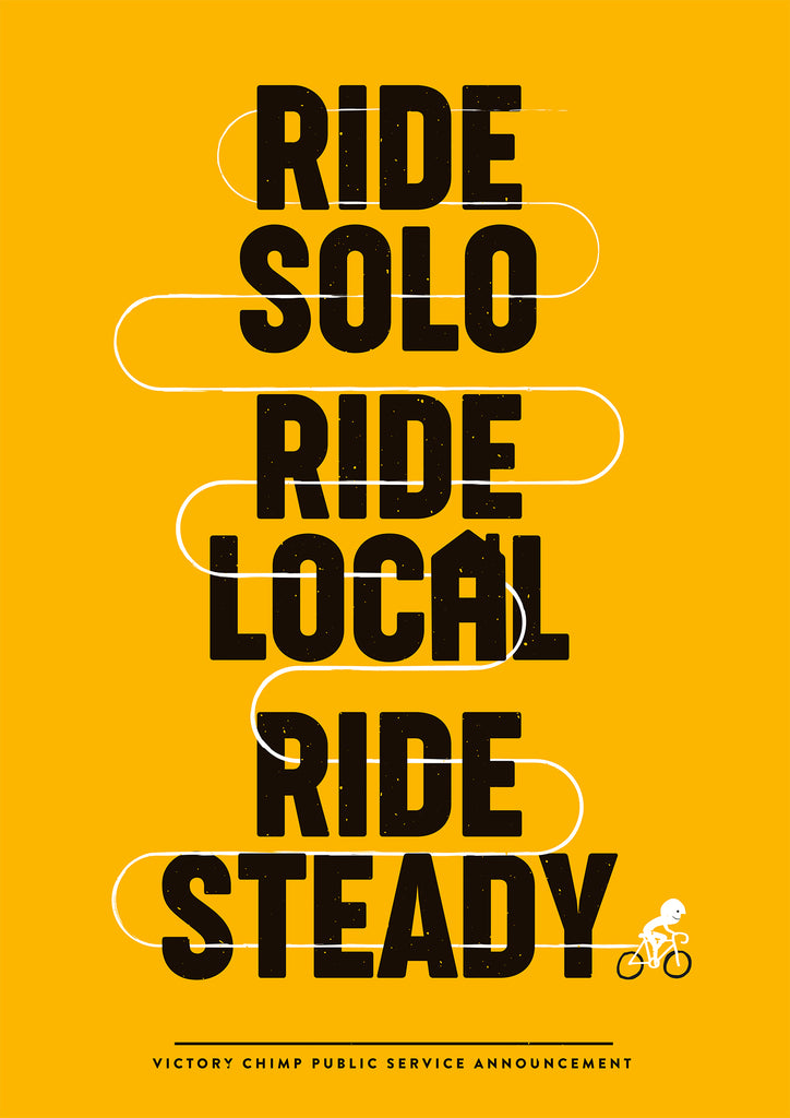 Ride Responsibly - Free Printable Poster + Phone/Desktop Background