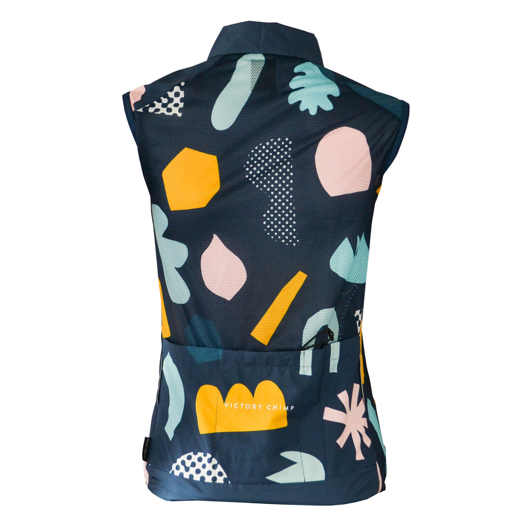 Papercuts Women's Packable Gilet