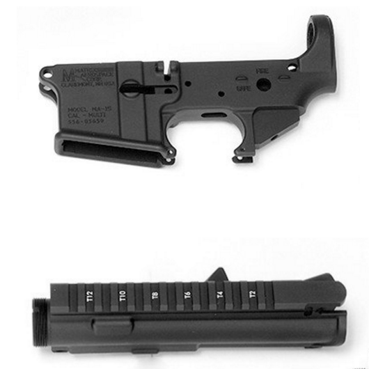 5.56 Stripped Upper/Lower Receiver Set