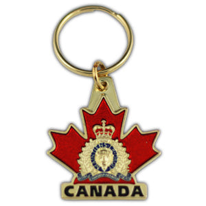 COLOURED CANADA KEYCHAIN LARGE/PORTE-CLEFS «CANADA» COLORÉ DE GRAND FORMAT5449
