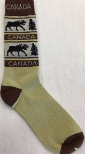 Socks Canada Adult Assorted Styles / Chaussettes adulte Canada styles assortis