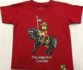 T-Shirt Short Sleeve Legend of Canada