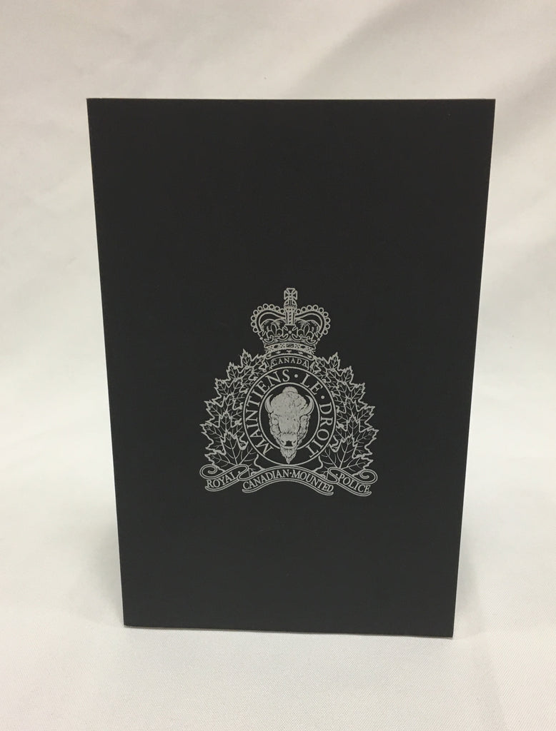 Note book with RCMP Crest ZD150
