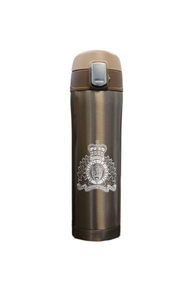 RCMP Crest Travel Mug