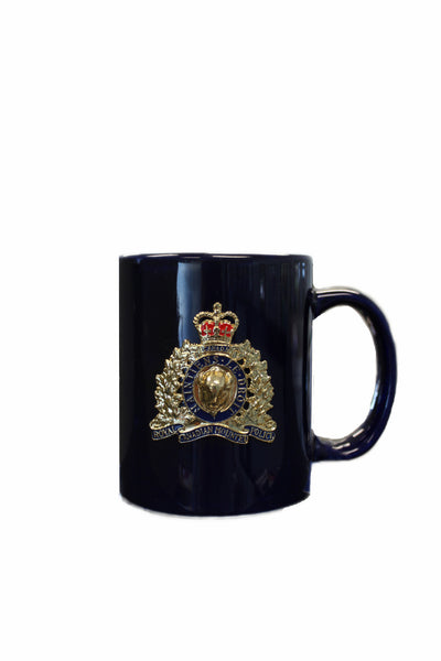 Coffee Mug with the RCMP Crest / Tasse de café avec l'écusson de la GRC