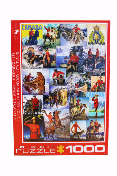 RCMP Collage Puzzle
