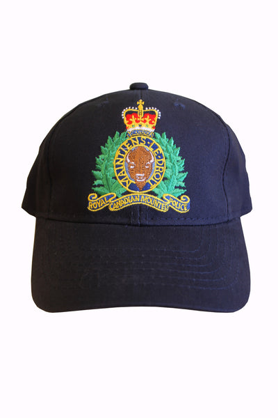 RCMP Crest Ball Cap