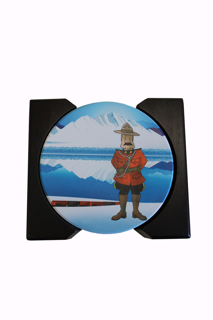 Mountie Coasters