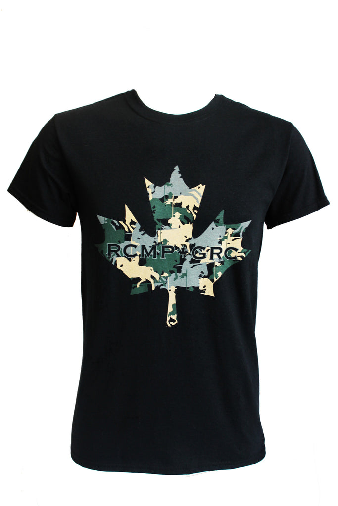 RCMP-GRC Maple Leaf & Rider T-Shirt