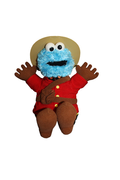 Mountie Cookie Monster